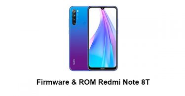 Download Firmware & ROM Redmi Note 8T