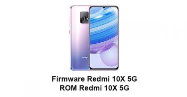 Firmware & ROM Redmi 10X 5G