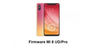 Firmware Mi 8 UD/Pro