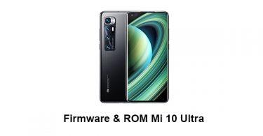 Firmware & ROM Mi 10 Ultra