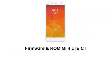 Firmware & ROM Mi 4 LTE CT