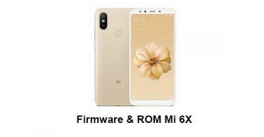 Firmware & ROM Mi 6X