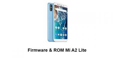 Firmware & ROM Mi A2 Lite