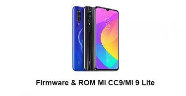 Firmware & ROM Mi CC9/Mi 9 Lite