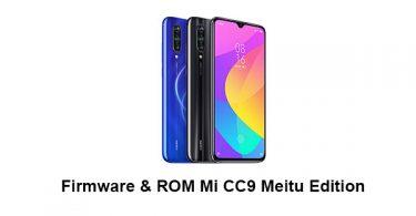 Firmware & ROM Mi CC9 Meitu Edition