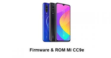 Firmware & ROM Mi CC9e
