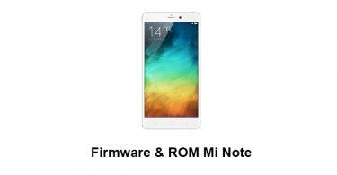 Firmware & ROM Mi Note