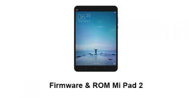 Firmware & ROM Mi Pad 2