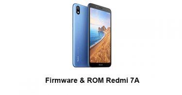 Firmware & ROM Redmi 7A
