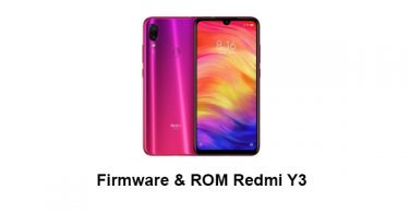 Firmware & ROM Redmi Y3