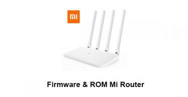 Firmware & ROM Mi Router