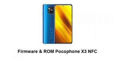 Firmware & ROM Pocophone X3 NFC