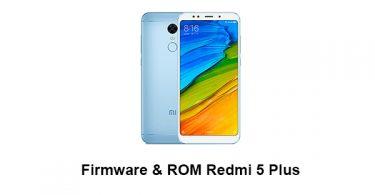 Firmware & ROM Redmi 5 Plus