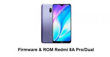 Firmware & ROM Redmi 8A Pro/Dual