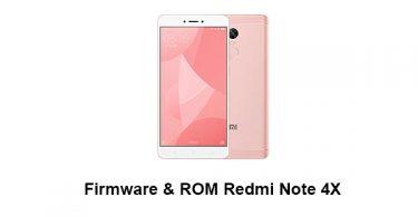 Firmware & ROM Redmi Note 4X