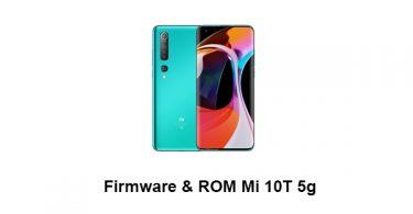 Firmware & ROM Mi 10T 5g