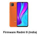 Firmware Redmi 9 (India)