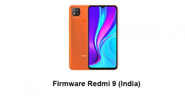 Firmware Redmi 9 (India)