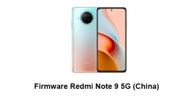 Firmware Redmi Note 9 5G (China)