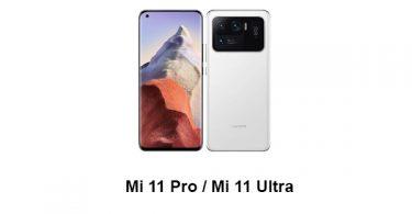 Mi 11 Pro / Mi 11 Ultra